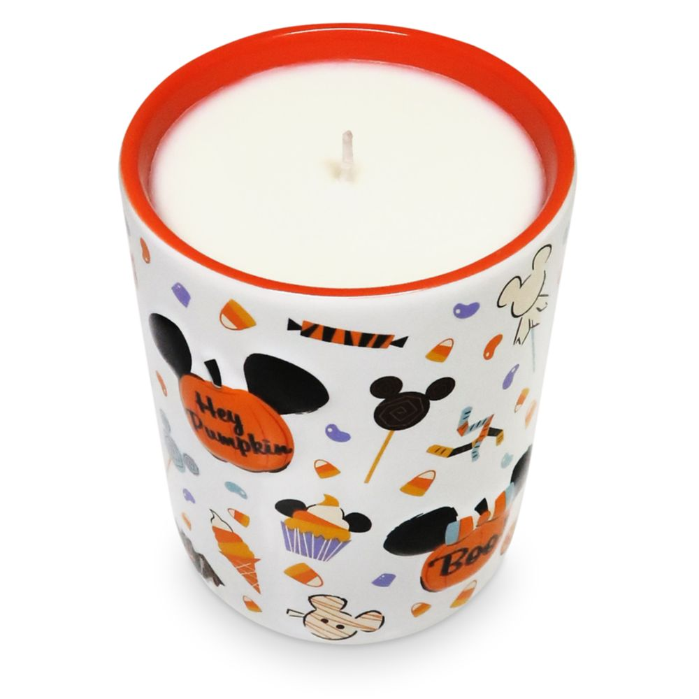 Mickey Mouse Pumpkin Spice Halloween Candle