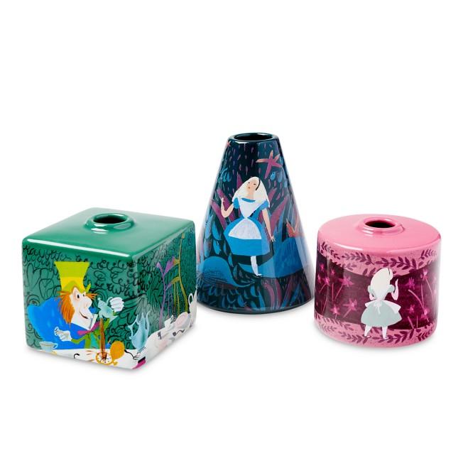 Alice in Wonderland by Mary Blair Vase Set