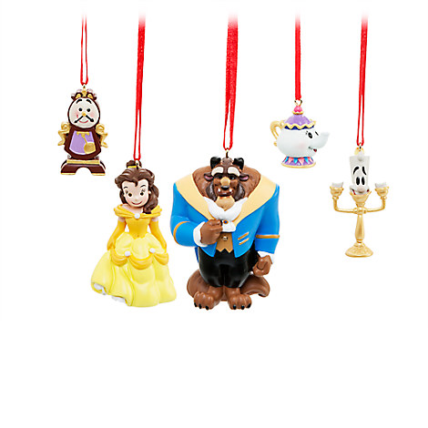 Beauty and the Beast Sketchbook Mini Ornament Set