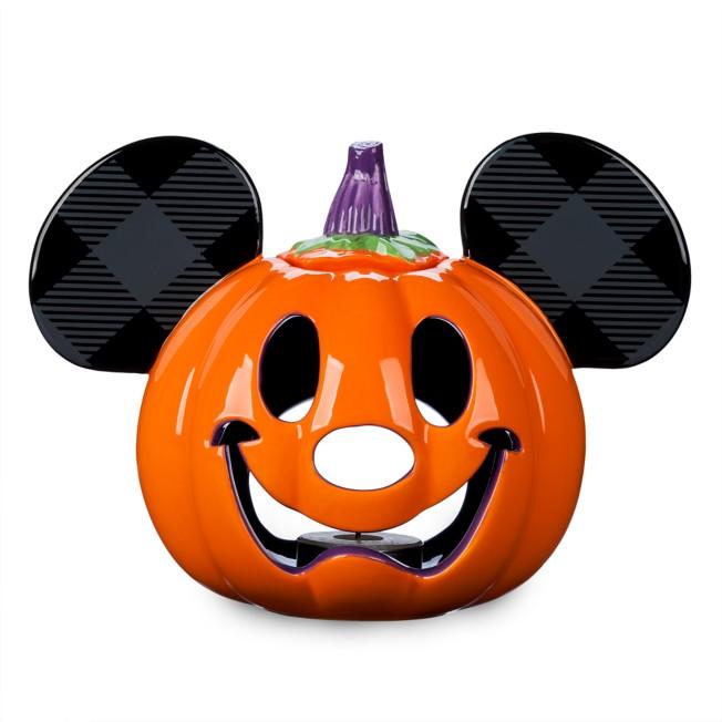Mickey Mouse Pumpkin Halloween Votive Candle Holder