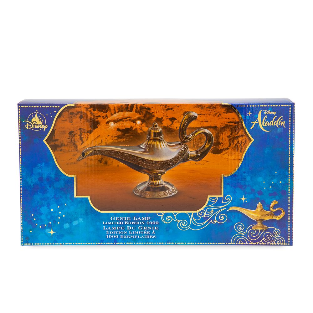 Genie Lamp Replica – Aladdin – Live Action Film – Limited Edition