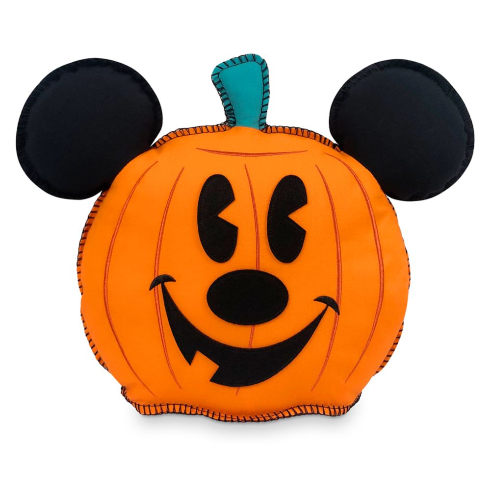 Mickey Mouse Pumpkin Halloween Pillow