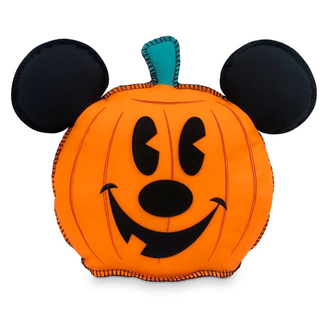 Mickey Mouse Pumpkin Halloween Pillow