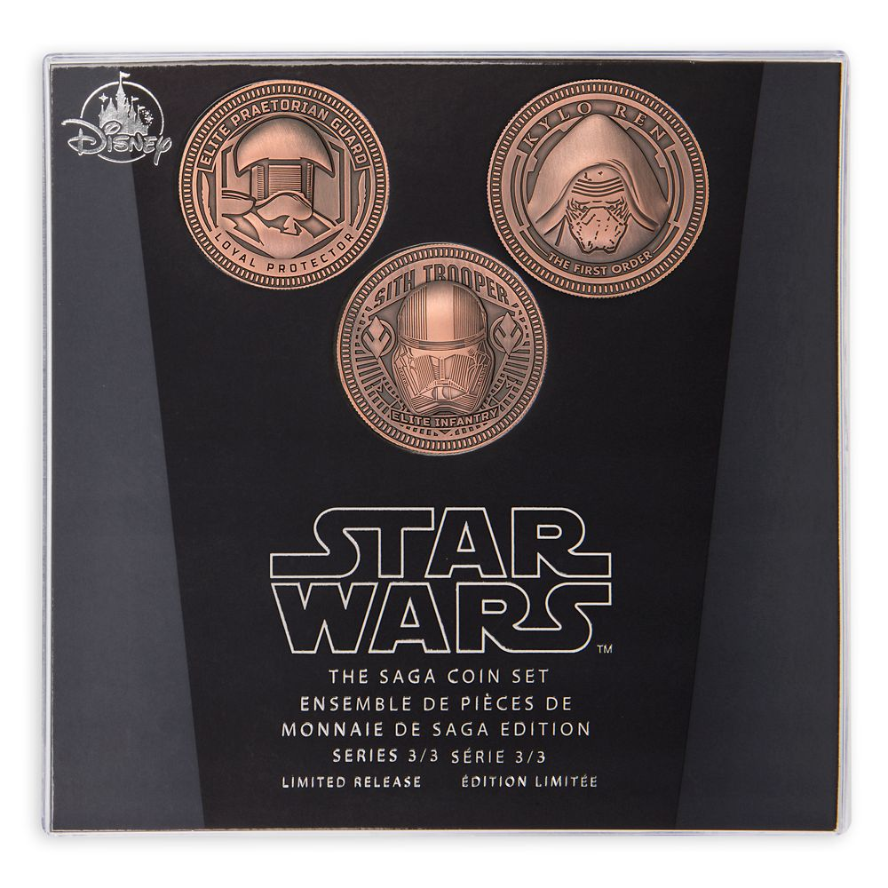 Star Wars Saga Coin Set Series 3 – Limited Release