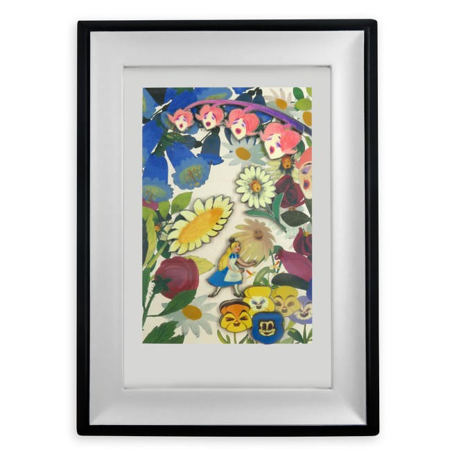 Alice in Wonderland by Mary Blair Framed Pin Set – Limited Edition – Pre-Order