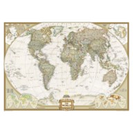 World Executive Mural Map – National Geographic