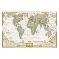 World Executive Laminated Map – National Geographic