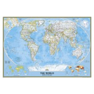 World Classic Laminated Map – National Geographic