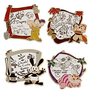 Disney Animation Limited Edition Pin Set