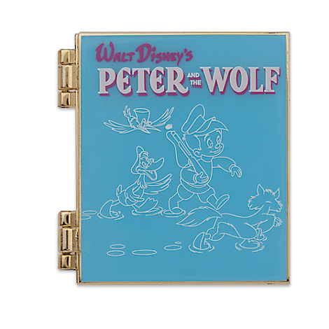 Peter and the Wolf Limited Release Pin - October 2016