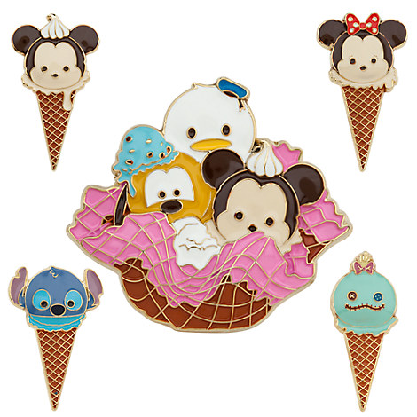 Mickey Mouse and Friends ''Tsum Tsum'' Limited Edition Pin Set