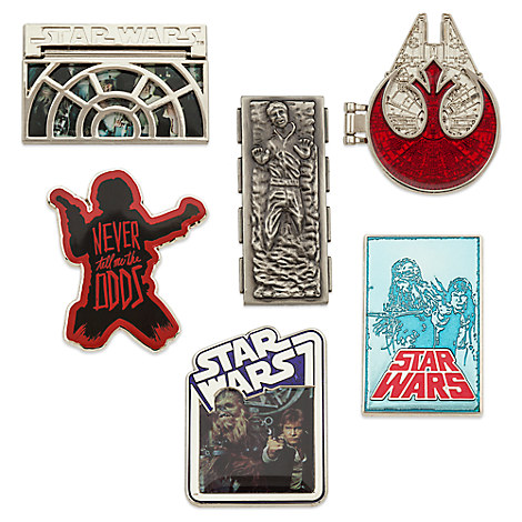 Han Solo Pin Set - Star Wars - Limited Edition