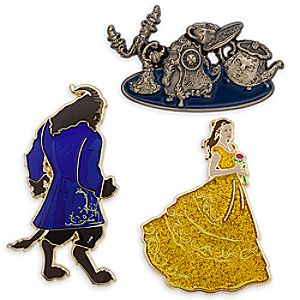Beauty and the Beast Limited Edition Pin Set – Live Action Film