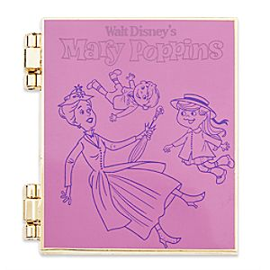 Mary Poppins Limited Release Pin - January 2017