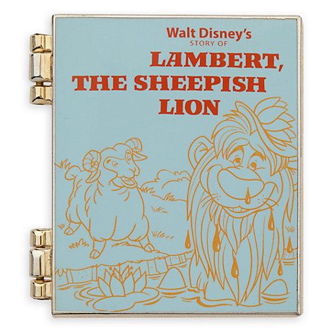 Lambert, the Sheepish Lion Limited Release Pin - November 2016