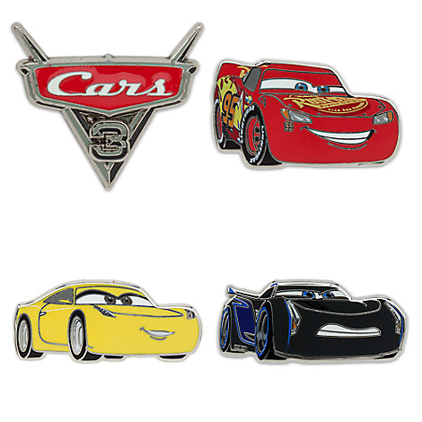 Cars 3 Pin Set - Limited Edition