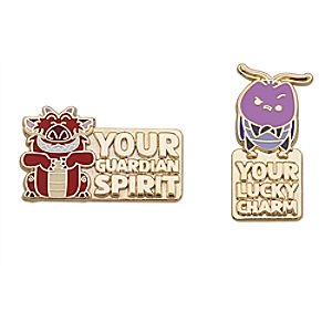 Mushu and Cri-Kee Pin Set - Mulan