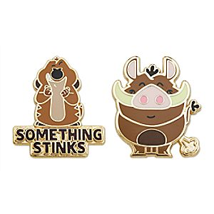 Timon and Pumbaa Pin Set - The Lion King