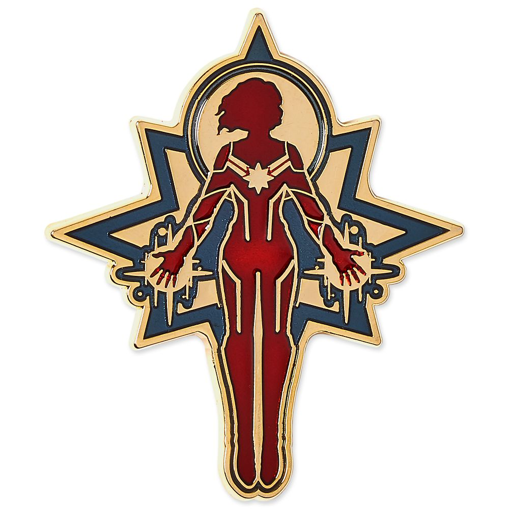Marvel's Captain Marvel Limited Release Pin