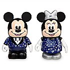 Vinylmation Mickey and Minnie Mouse 3'' Figure Set - Disney Store 30th Anni.