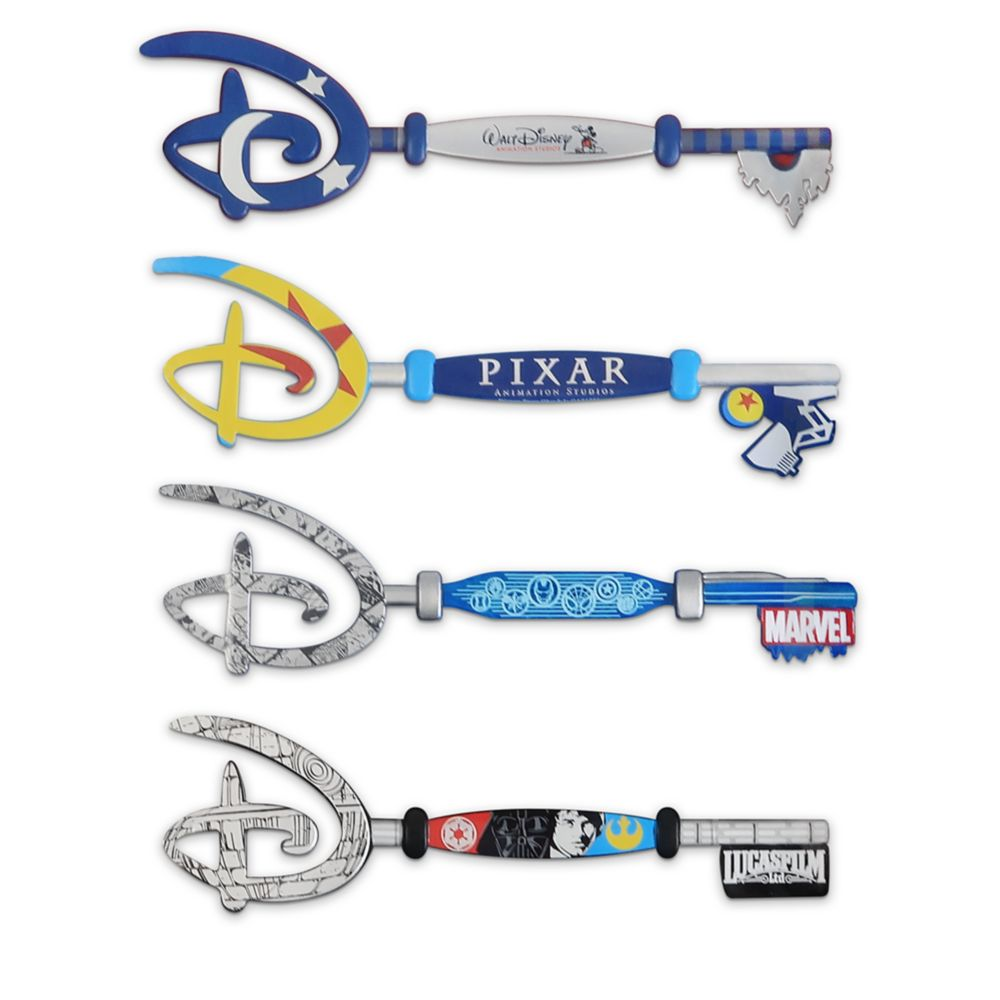 Disney Studios Collectible Key Set
