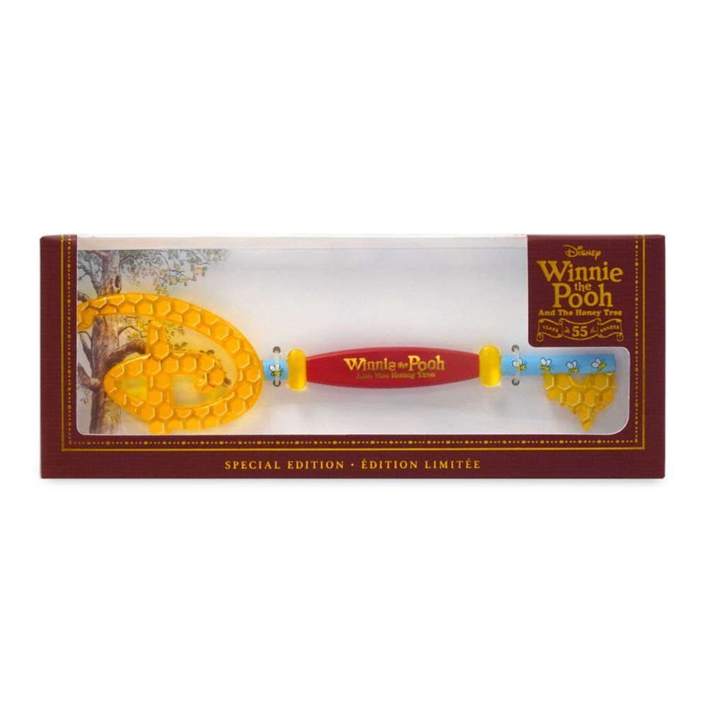 Winnie the Pooh and the Honey Tree 55th Anniversary Collectible Key – Special Edition