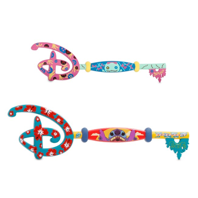 Stitch and Scrump Collectible Key Set