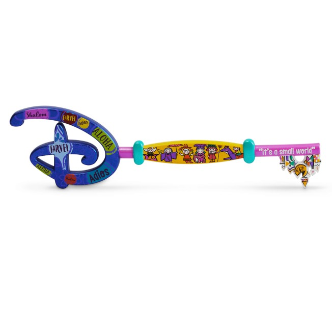 Disney it's a small world 55th Anniversary Collectible Key – Special Edition