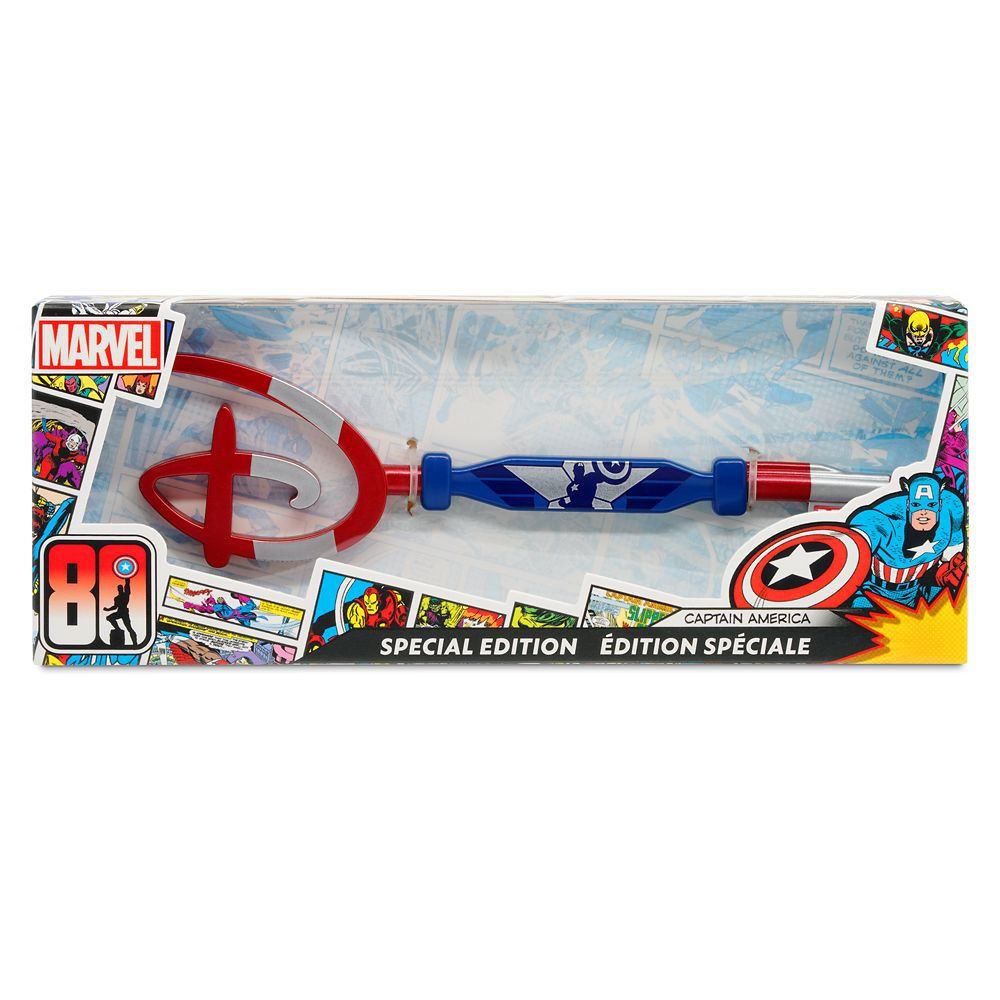 Captain America 80th Anniversary Collectible Key – Special Edition