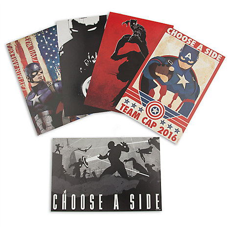 Captain America: Civil War Limited Edition Lithograph Set