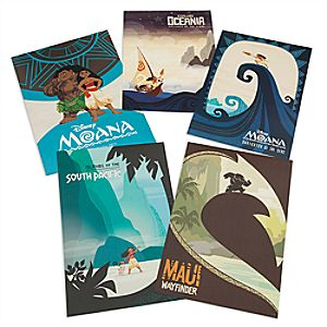 Disney Moana Limited Edition Lithograph Set