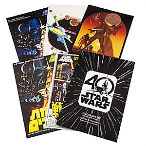 Star Wars 40th Anniversary Lithograph Set – Limited Edition