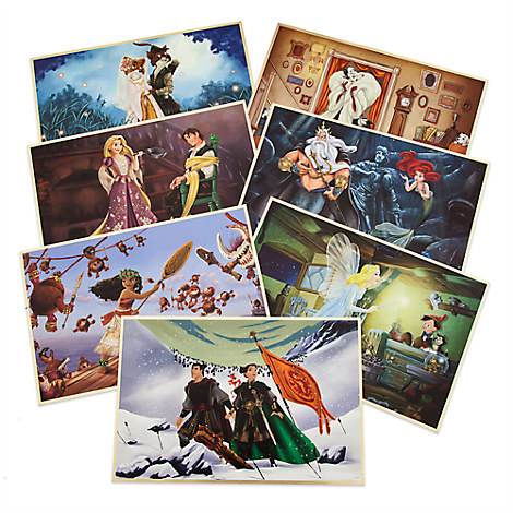 Disney Designer Collection Lithograph Set - Limited Edition