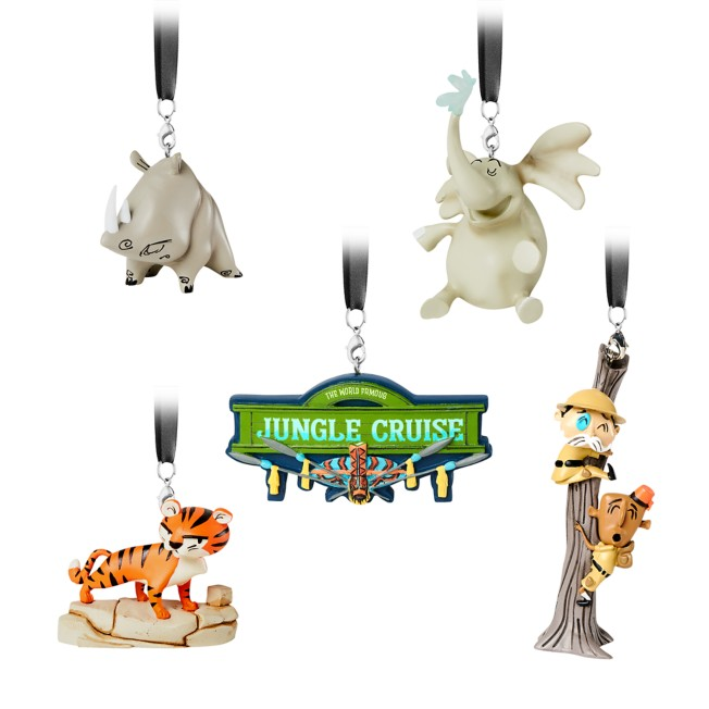 Jungle Cruise Ornament Set