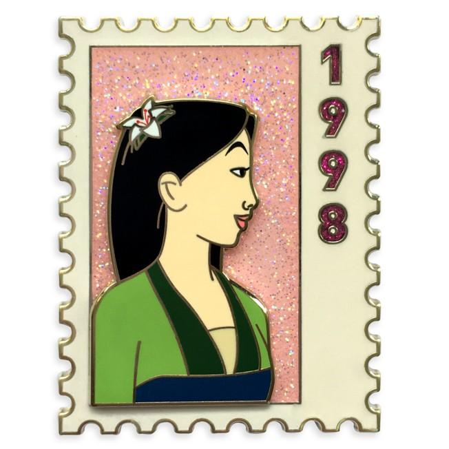 D23-Exclusive Mulan Postage Stamp Pin