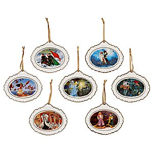 Disney Designer Collection Ornament Set – Limited Edition