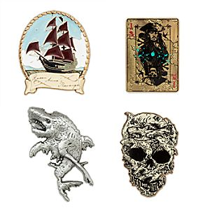 Pirates of the Caribbean: Dead Men Tell No Tales Pin Set - Limited Edition