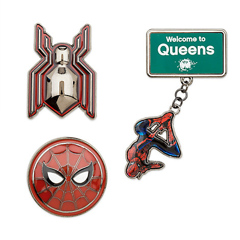 Spider-Man: Homecoming Pin Set - Limited Edition