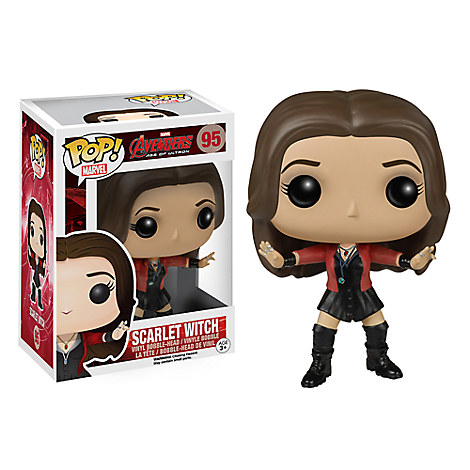Scarlet Witch Pop! Vinyl Bobble-Head Figure by Funko - Marvel's Avengers: Age of Ultron