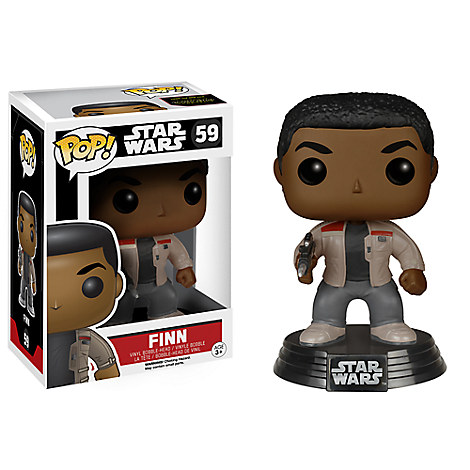 Finn Pop! Vinyl Bobble-Head Figure by Funko - Star Wars: The Force Awakens