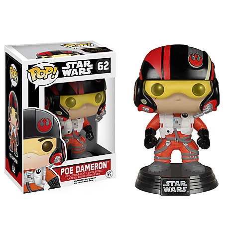 Poe Dameron Pop! Vinyl Bobble-Head Figure by Funko - Star Wars: The Force Awakens