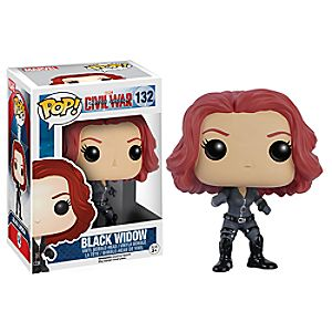 Black Widow Pop! Vinyl Bobble-Head Figure by Funko - Captain America: Civil War 6505047370932P