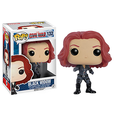 Black Widow Pop! Vinyl Bobble-Head Figure by Funko - Captain America: Civil War