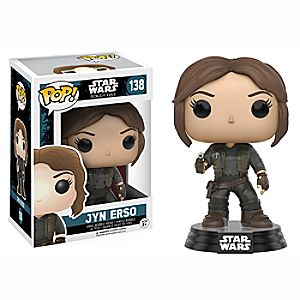 Sergeant Jyn Erso Pop! Vinyl Figure by Funko - Rogue One: A Star Wars Story 6505047371750P