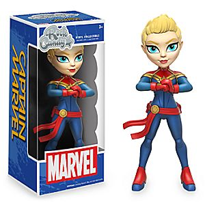 Captain Marvel Vinyl Figure - Rock Candy 6505047373719P