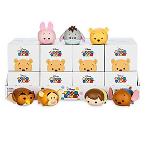 Winnie the Pooh Tsum Tsum Series 1 Vinyl Figure Tray