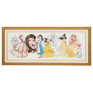 Art of Belle Limited Edition Framed Giclée