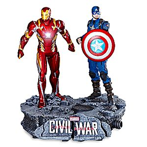 Captain America and Iron Man Limited Edition Figure Set - Captain America: Civil War 6505048300438P