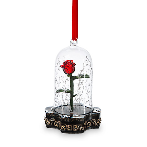 Beauty and the Beast Light-Up Ornament - Live Action Film