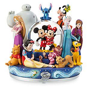 Disney Store 30th Anniversary Snowglobe